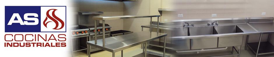 As cocinas industriales fabricacion en acero inoxidable for Cocinas industriales